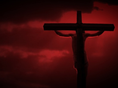 crucifixionredsky